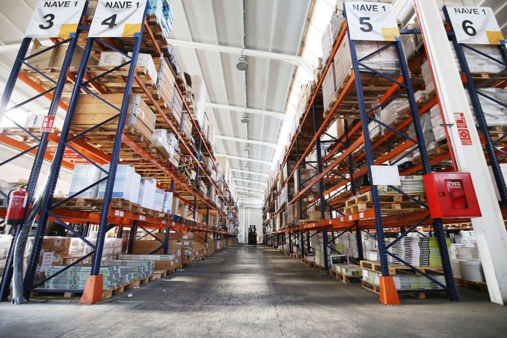 Estanter as met licas modulares tecny stand - Estanterias metalicas modulares ...