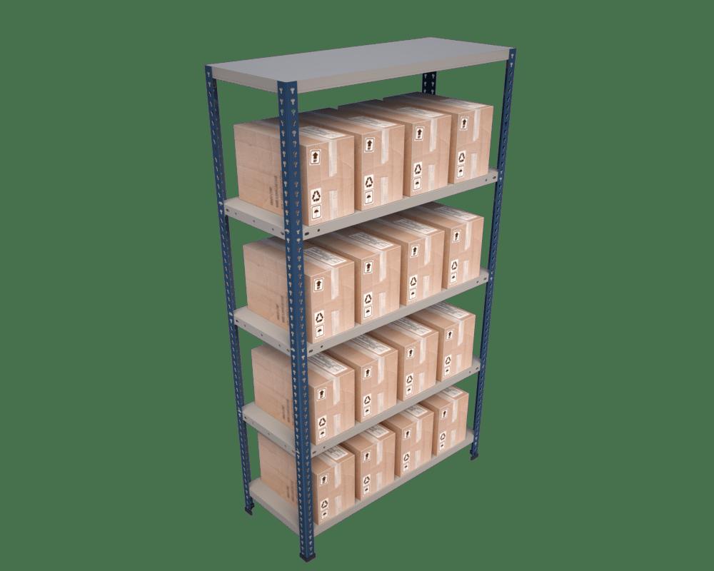 estanteria sin tornillos tecny practic