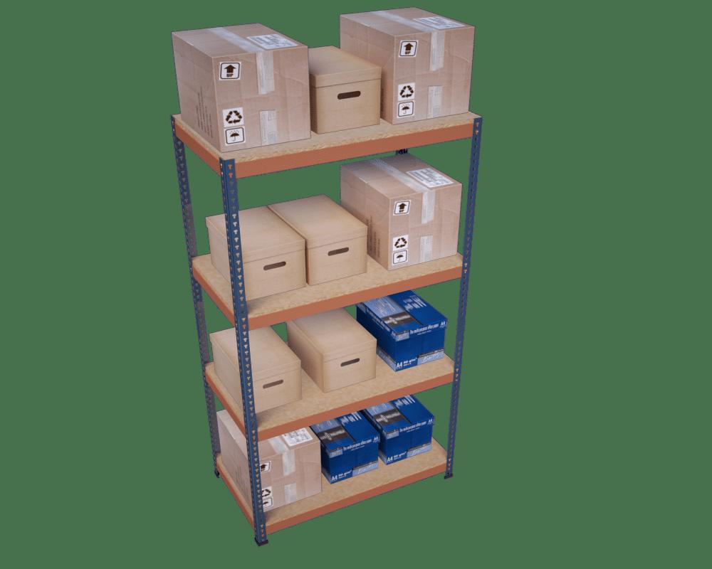 estanteria sin tornillos tecny modular
